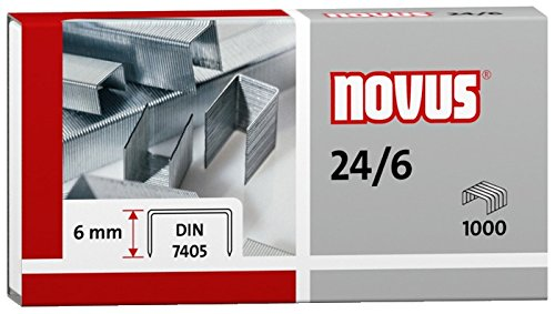 Staples: 24/6 DIN � package of1000 pcs by Novus (Image #3)