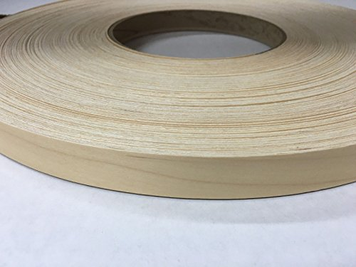 "BIRCH PRE FINESHED PREGLUED ( 5/8"" TO 3""X250') WOOD VENEER EDGE BANDING(2 1/2''x250'') from BIRCH PREFINISHED"
