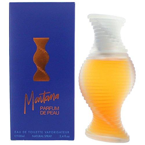 De Peau Perfume - Montana Parfum De Peau By Montana For Women, Eau De Toilette Spray, 3.4-Ounce Bottle