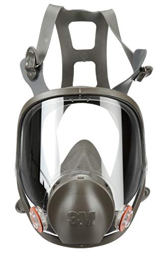 3M Full Facepiece Reusable Respirator 6900, Paint Vapors, Dust, Mold, Chemicals, Large from 3M Personal Protective Equipment