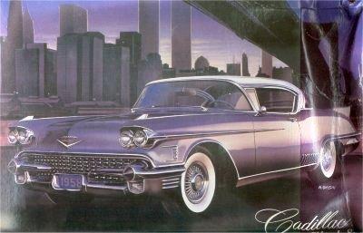 1958 Cadillac Eldorado Seville Hardtop 1-24 Arii