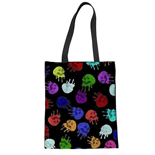 Girls Travel Canvas Print Beach Tote Handbag Color Shopping Stylish Advocator Casual Bags Womens Tote 15 Bag for x0nwAt7vfq