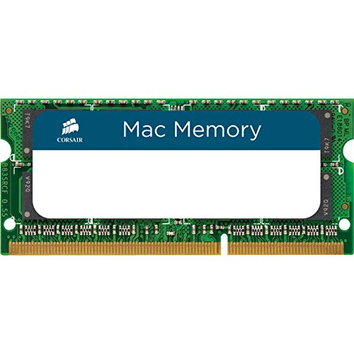 Apple Macbook Ram - Corsair Apple Certified 16GB (2 x 8GB) DDR3 1333 MHz (PC3 10600) Laptop Memory for Mac Model CMSA16GX3M2A1333C9