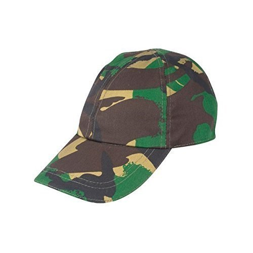 Kids Army Camouflage Cap - Kids Military Role Play - Camo Baseball Cap KAS
