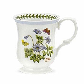 (Portmeirion Botanic Garden Terrace Lilac Border Wind Flower Mug Porcelain Fine China)