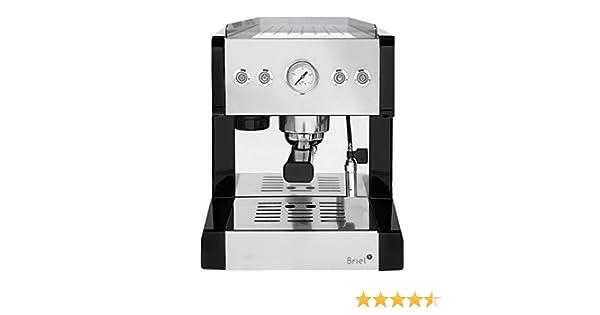 Briel es209e in cafetera café expreso acero inoxidable: Amazon.es ...