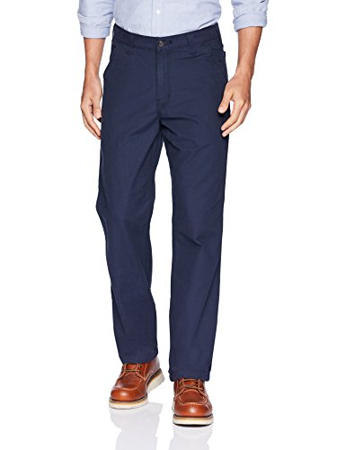 Carhartt Men's Rugged Flex Rigby Dungaree, Navy, 32 x 30 ()