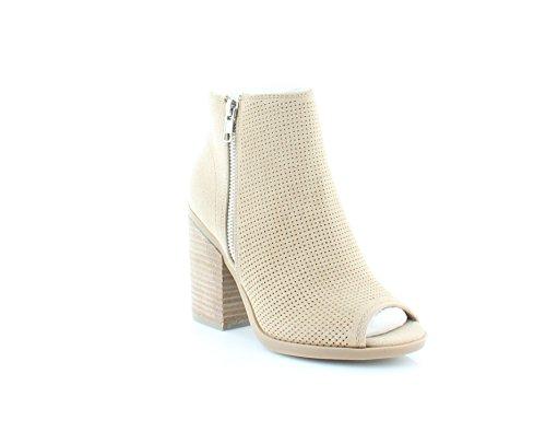 Appelez-le Printemps Femmes Metaponto Tissu Ouvert Orteil Cheville Bottes De Mode Os
