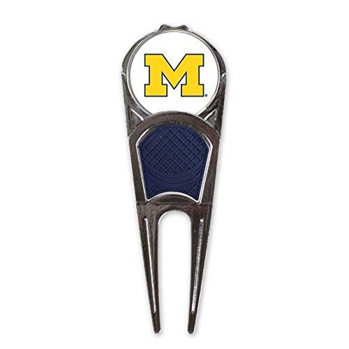 WinCraft NCAA University of Michigan Golf Ball Mark Repair Tool ()