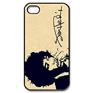 Jimi Hendrix Design Back Case Protective TPU Cover For Iphone 4 4s iphone4s-82028