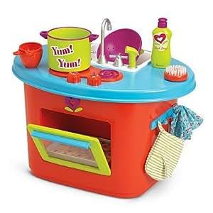 American girl bitty twins kitchen set toys for Kitchen set toys amazon