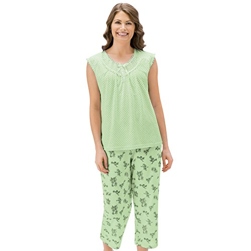 pri Pajama Set, Mint, X-Large ()