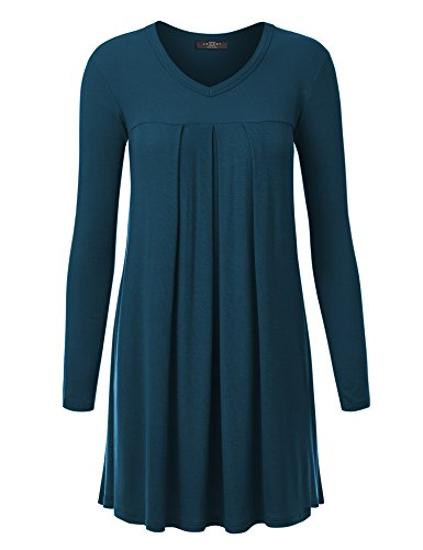 V-neck Knit Tunic - 9