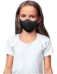 Kids' Children's Soft Stretch Reusable Face Mask 3-Pack