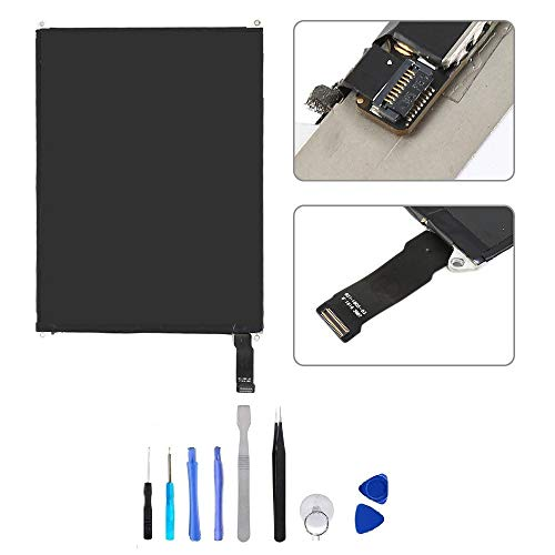 BESTeck LCD Replacement Screen Display Compatible for Apple iPad Mini 1/2 A1489 A1490 A1491 A1599 A1600 A1601 with Tools by BESTeck