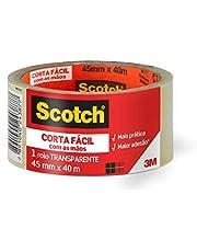 Fita de Empacotamento Scotch® Corta Fácil – 45mm x 40m