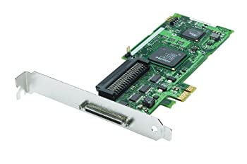 Adaptec 2248700-r U320 Pci Express X1 1-channel Scsi Host Bus Adapter 0