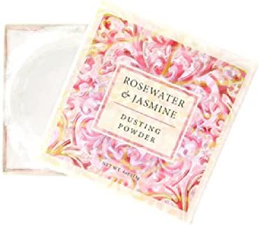 Greenwich Bay Trading Co. Dusting Powder, 4 Ounce, Rosewater & Jasmine