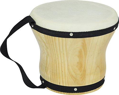 - Rhythm Band Bongos Single Large 6-1/2 in. H x 8 in. Dia.