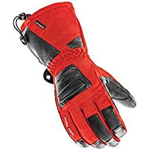 Joe Rocket Latitude XL Mens On-Road Motorcycle Leather Gloves - Red/Black / Large