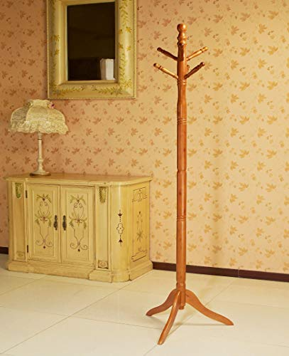 Frenchi Home Furnishing Frenchi Furniture Wood Coat/Hat Rack Stand