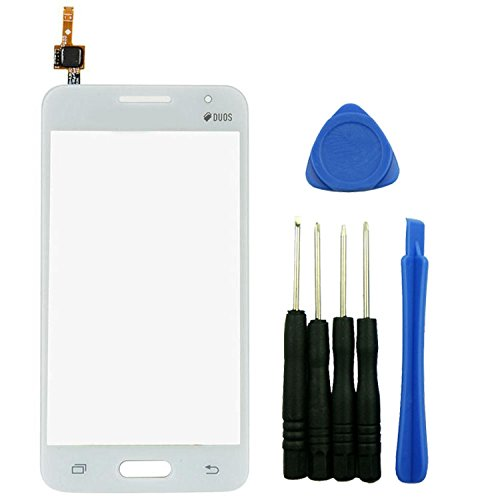 Touch Screen Digitizer for Samsung Galaxy Core 2 Duos G355 (White) - 1