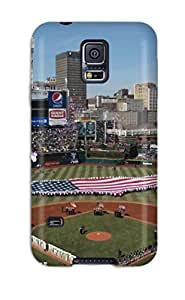 New AnthonyJNixon Super Strong Cleveland Indians Tpu Case Cover For Galaxy S5