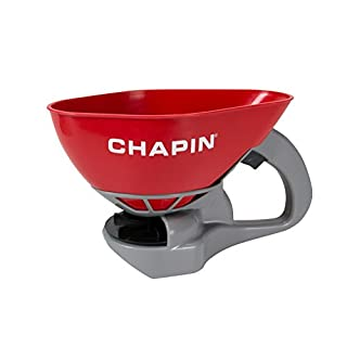 Chapin 8706A 1.6L/.4 Gal All season Poly Hand Crank Spreader For Seeds, Fertilizer and Ice Melt. 1.6L (1 Spreader/Package)