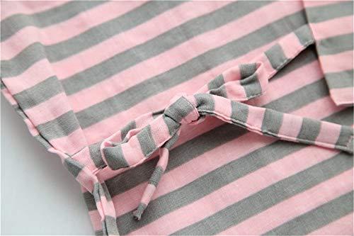 Configuran Ytfoplk Familias Que Con Pink Sexy Pijamas Las Kimono Usar Mujeres Puedan Algodón Japoneses l Sencillos Rayas De Los Para Spring rw8qgar
