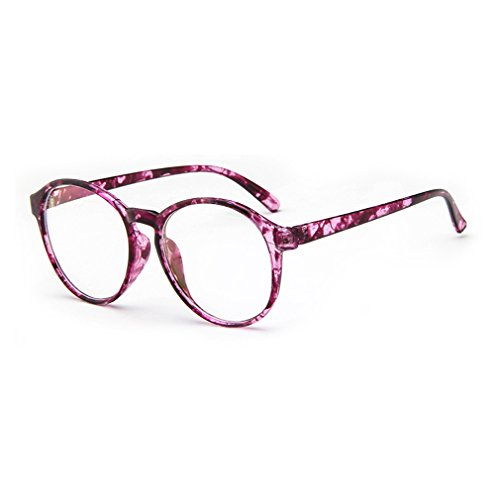 Police Force Mirrored Sunglasses (LOMOL Fashion Korean Design Retro Student Style Transparent Lens Frame Glasses For Men&Women(C8))