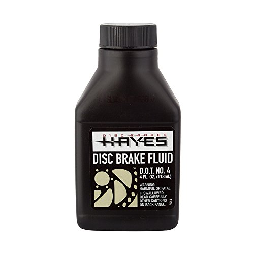 Hayes DOT-4 hydraulic brake fluid, 4oz bottle by Hayes