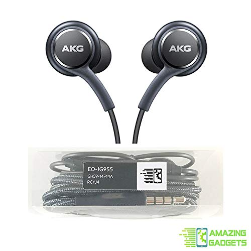 (OEM Amazing Stereo Headphones for Samsung Galaxy S8 S9 S8 Plus S9 Plus S10 Note 8 9 - Designed by AKG - with)