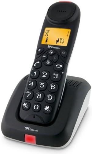 SPC 7123N DECT Identificador de Llamadas Negro: Amazon.es: Electrónica