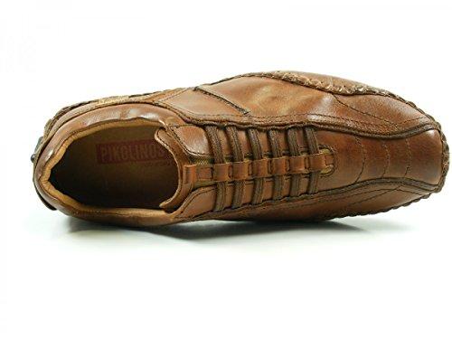 Pikolinos 15A-6039 Fuencarral Zapatos Mocasines de cuero para hombre Braun