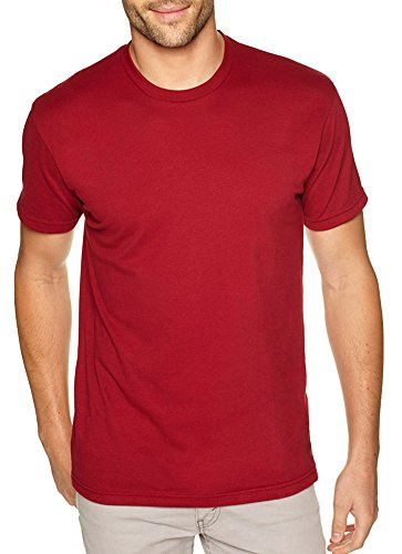 - Next Level Apparel Premium Fitted Sueded Crew (6410) Cardinal, 2XL