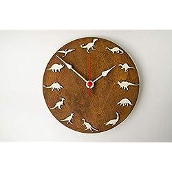 Dinosaur 10 wall clock Prehistoric animals decor