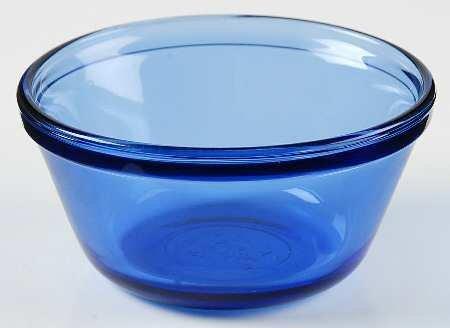 Anchor Hocking Batter Bowl (Cobalt Blue Anchor Hocking Glass Mixing Batter Bowl (1.5 Quart))