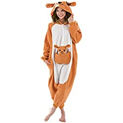 Kangaroo Hood Animal Onesie