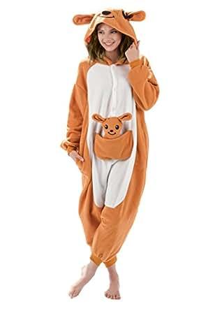 amazoncom emolly fashion adult kangaroo animal onesie