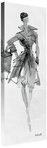 Global Gallery Anne Tavoletti 'Fashion Sketchbook VII' Giclee Stretched Canvas Artwork 12 x 36