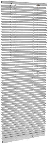 AmazonBasics – Tenda veneziana in alluminio, 50 x 130 cm, Argento