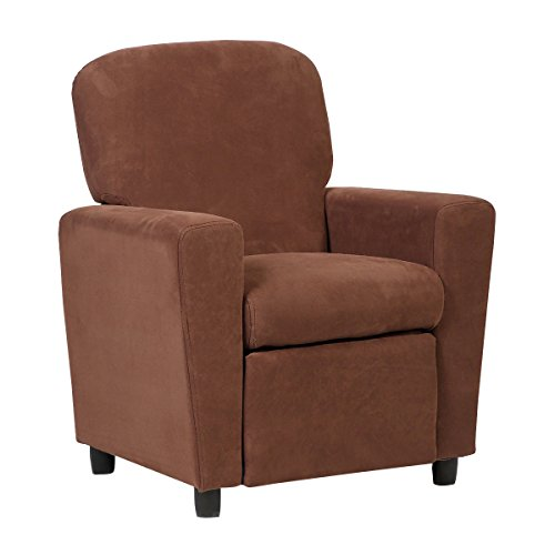 Costzon Kids Recliner Sofa Chair Children Reclining Seat Couch Room Furniture (Brown) by Costzon