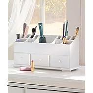 1 X Vanity n Beauty Organizer with Drawers & Storage in White