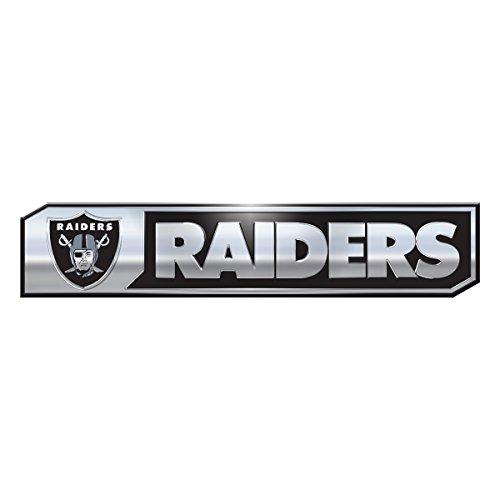 (NFL Oakland Raiders Truck Emblem, 2-Pack)