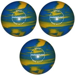 EPCO キャンドルピン ボーリングボール 大理石 マリゴールド&ロイヤル ボール3個付き  4 1/2 inch- 2lbs. 7oz.