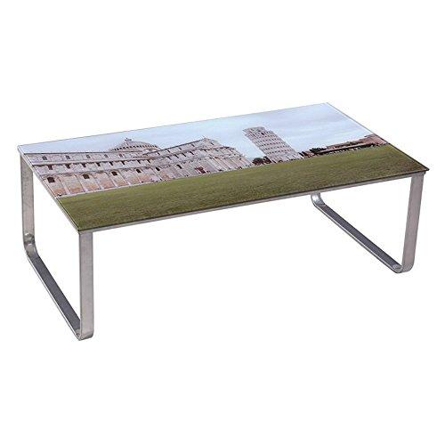 Pisa Coffee Table - U.S. Pride Furniture Scenery Pattern Coffee Table - Pisa Cathedral