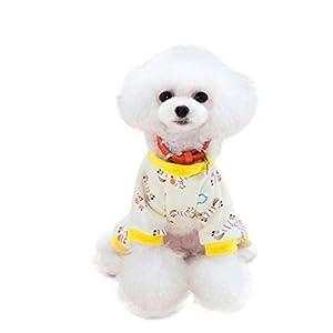 Kim88 Pet Clothes Fall Winter Four Legs Dog Clothes Puppy Home Clothes (M, D)
