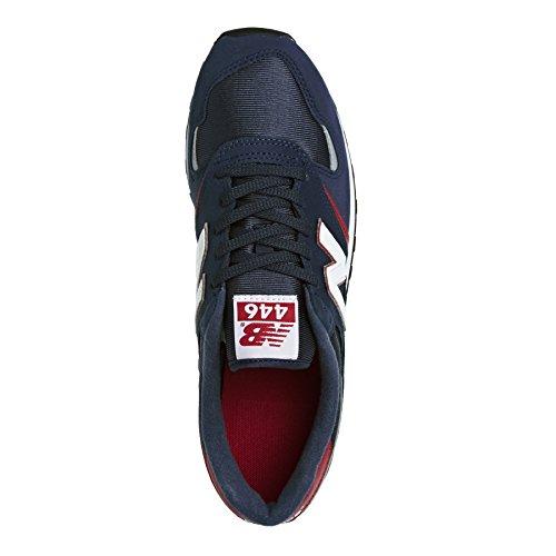 New Balance U446 Zapatillas para Mujer, Azul, 38