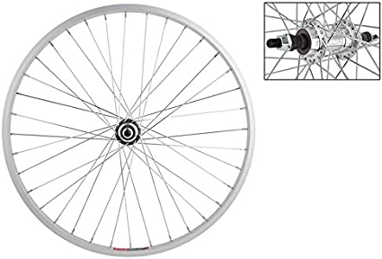 Silver Alloy Bolt On Wheel Master Front Bicycle Wheel 24 x 1.5 36H