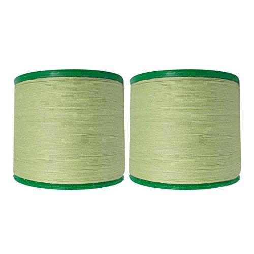 (Two Pieces Vardhman Cotton Eyebrow Threading Organica Antiseptic Facial Face Hair Remover Thread)